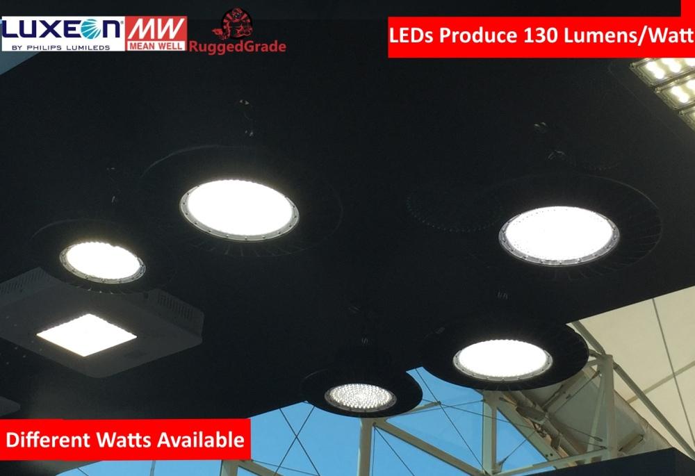 200 Watt Led High Bay Ufo Lights 26 000 Lumen Dlc