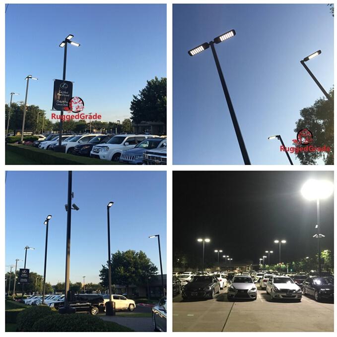 61 000 Lumen Led Parking Lot Lights Pro Series 480 Watt