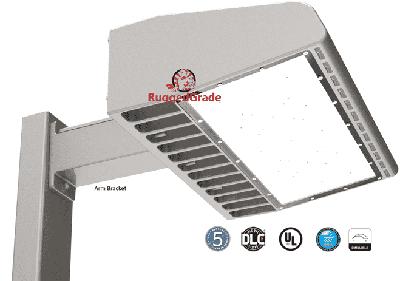 150w led area light parking lot light 21000 lumen arm. Black Bedroom Furniture Sets. Home Design Ideas