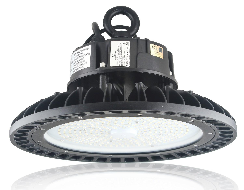 Motion Sensor 150 Watt Led High Bay Ufo Corvus Series Lights 21 000 Lumen Dlc Premium Verified 3 3ft Cord