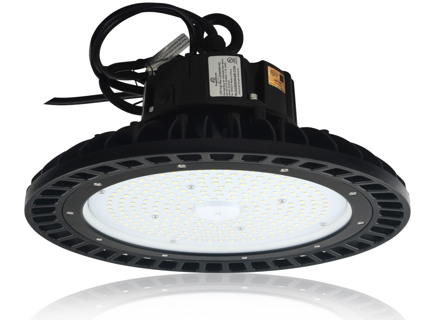 100 Watt Led High Bay Ufo Corvus Series Lights 14 500 Lume