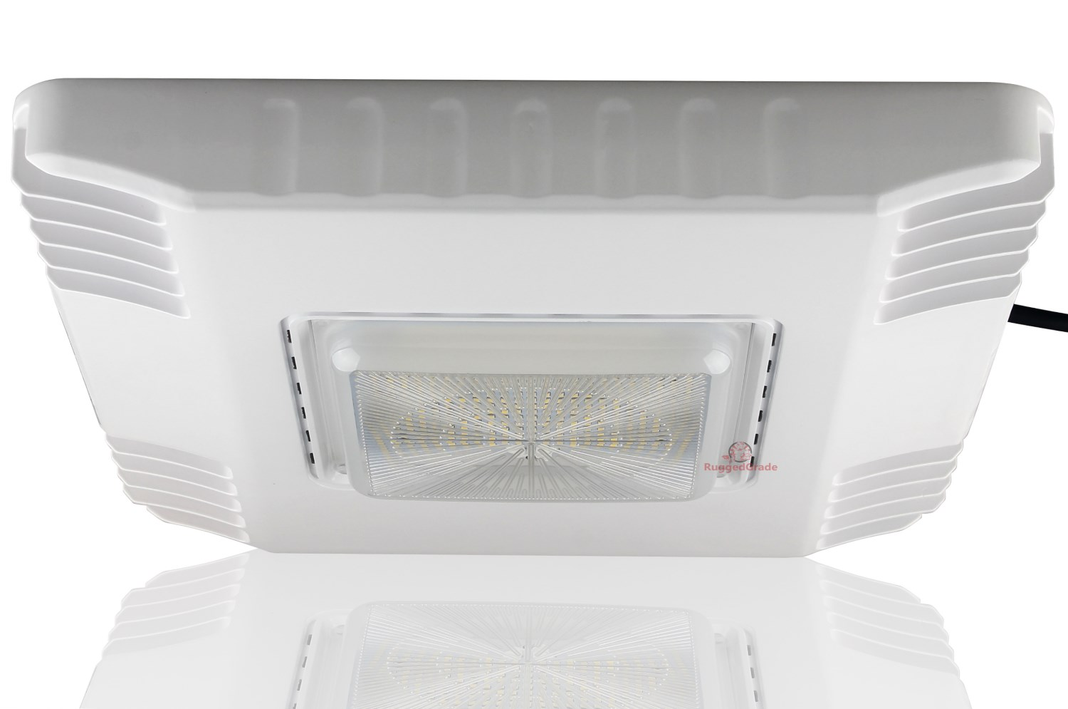 100W LED Canopy Light 5000K 13,000 LM LED Gas Station Parking Garage Light