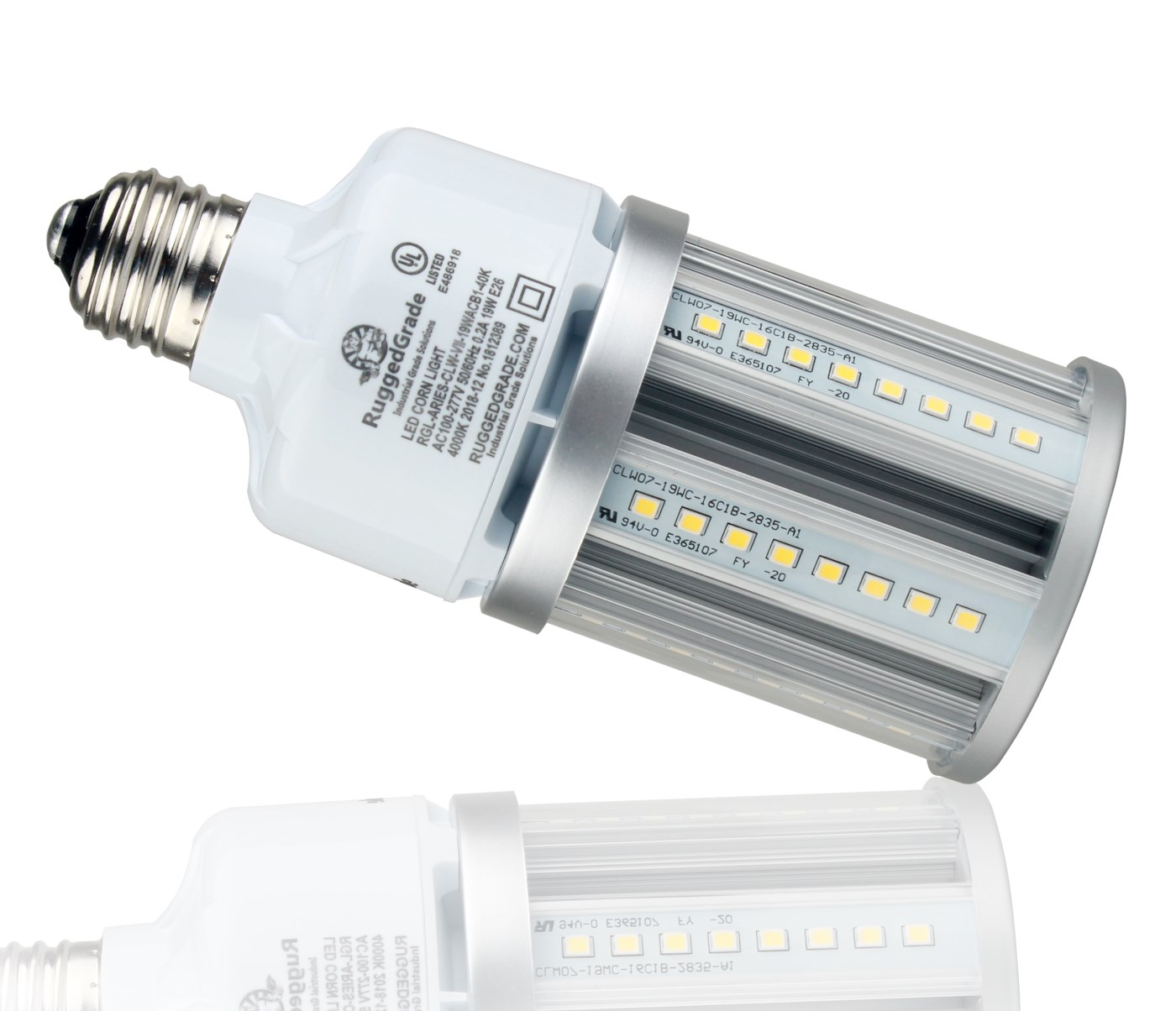 19 Watt Led Corn Light Bulb Standard E26 Base 4kv