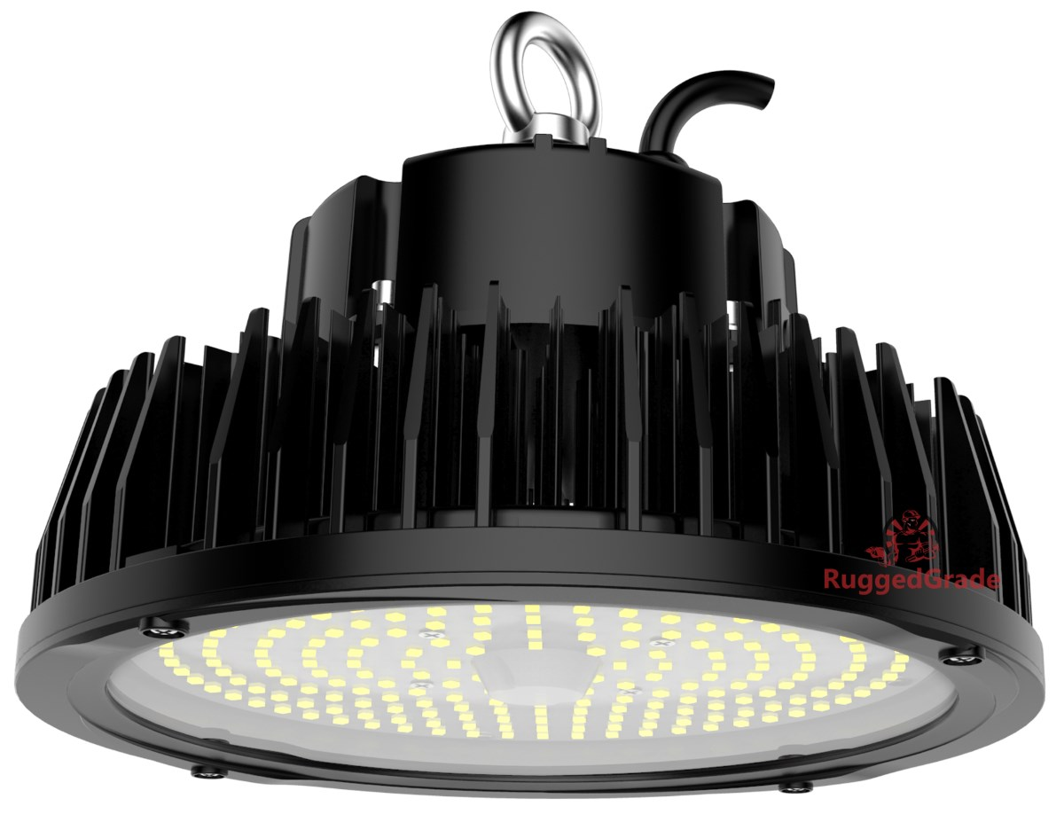 150 watt led high bay ufo rigel series lights 20 000 lumen dlc premium verified 5ft cord. Black Bedroom Furniture Sets. Home Design Ideas