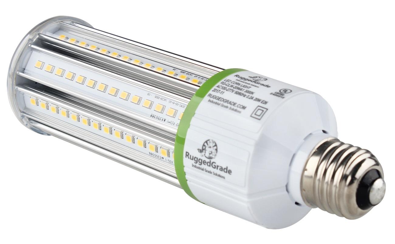 20 Watt Led Bulb Standard E26 Base 2 400 Lumen Corn