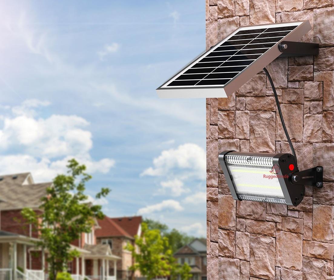 Commercial Solar Flood Lights Nz: Carina Series 20 Watt Solar Flood Light