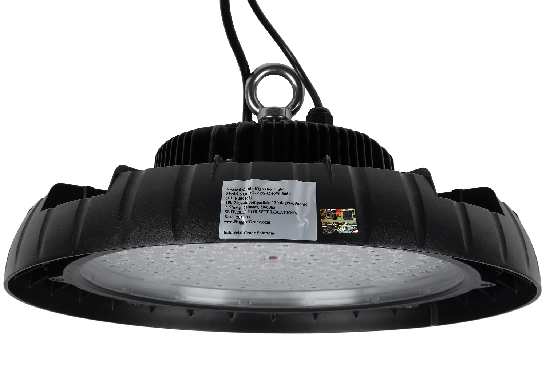 240 watt led high bay ufo lights 40 000 lumen vega series