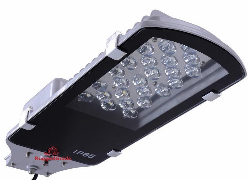 24 watt led pole light 2400 lumens. Black Bedroom Furniture Sets. Home Design Ideas