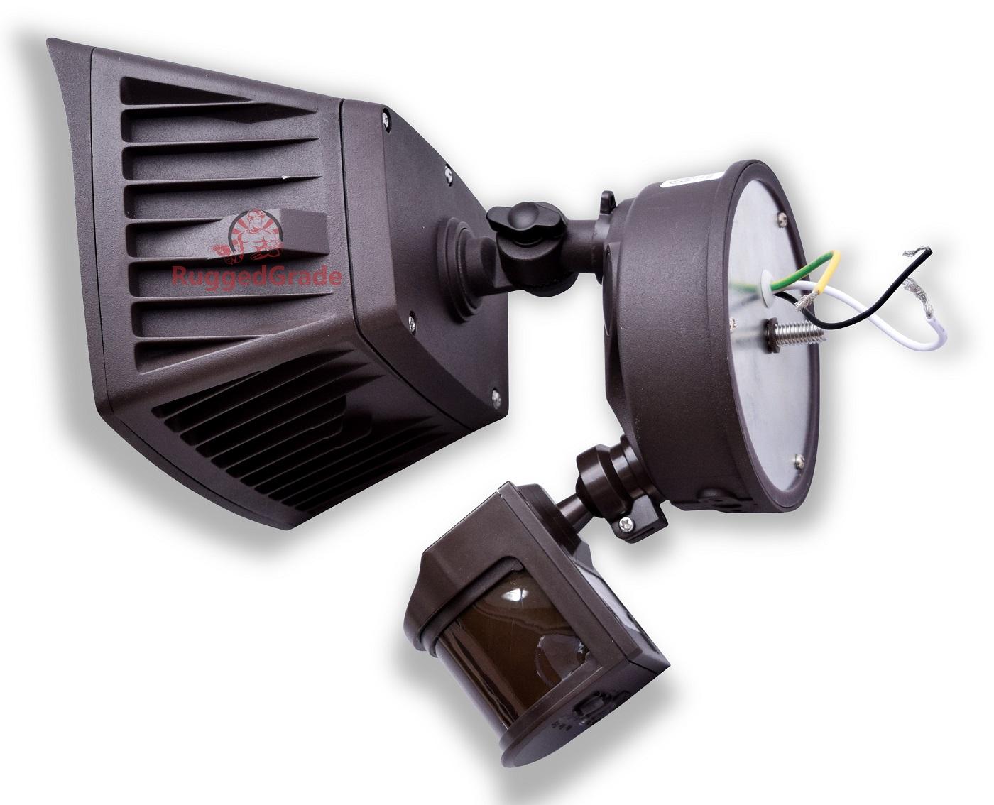 40 watt led motion sensor flood light 4800 lumens led flood light quick view aloadofball Image collections