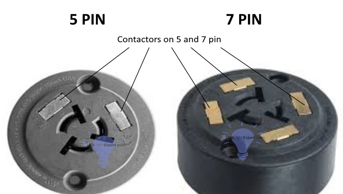 5 pin vs 7 pin