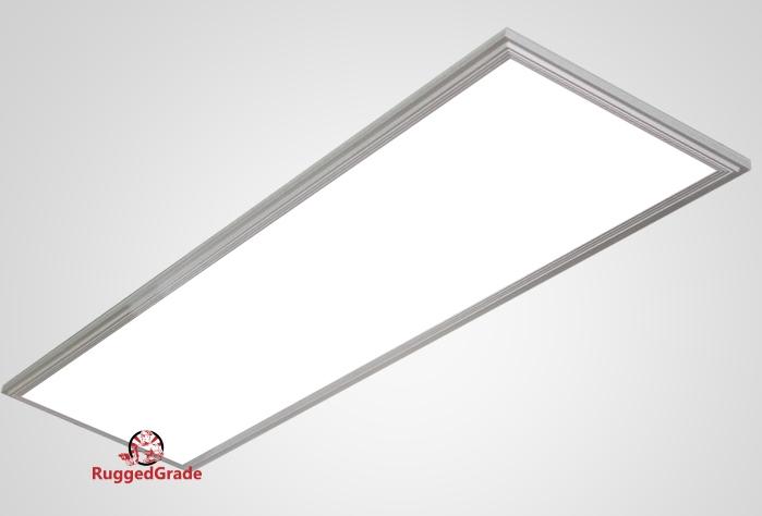 2x4 Feet - 50 Watt Panel Light- Troffer Light - 5000K - Dimmable (Carton of  4 panel lights)