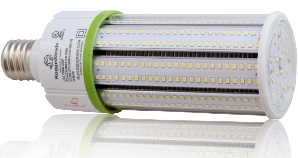 60 watt e39 led light bulb 8 115 lumens 4000k dlc. Black Bedroom Furniture Sets. Home Design Ideas