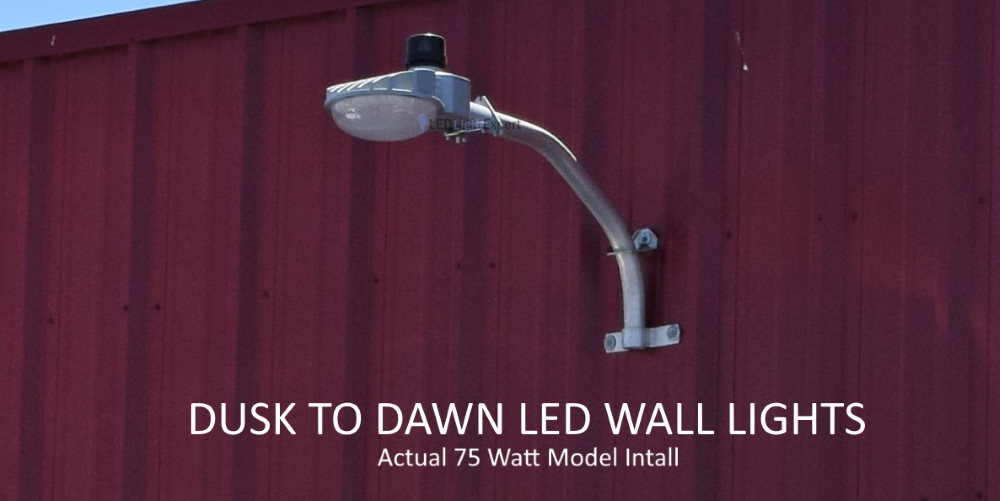 9 600 Lumen Outdoor Wall Light Barn Style 75 Watts