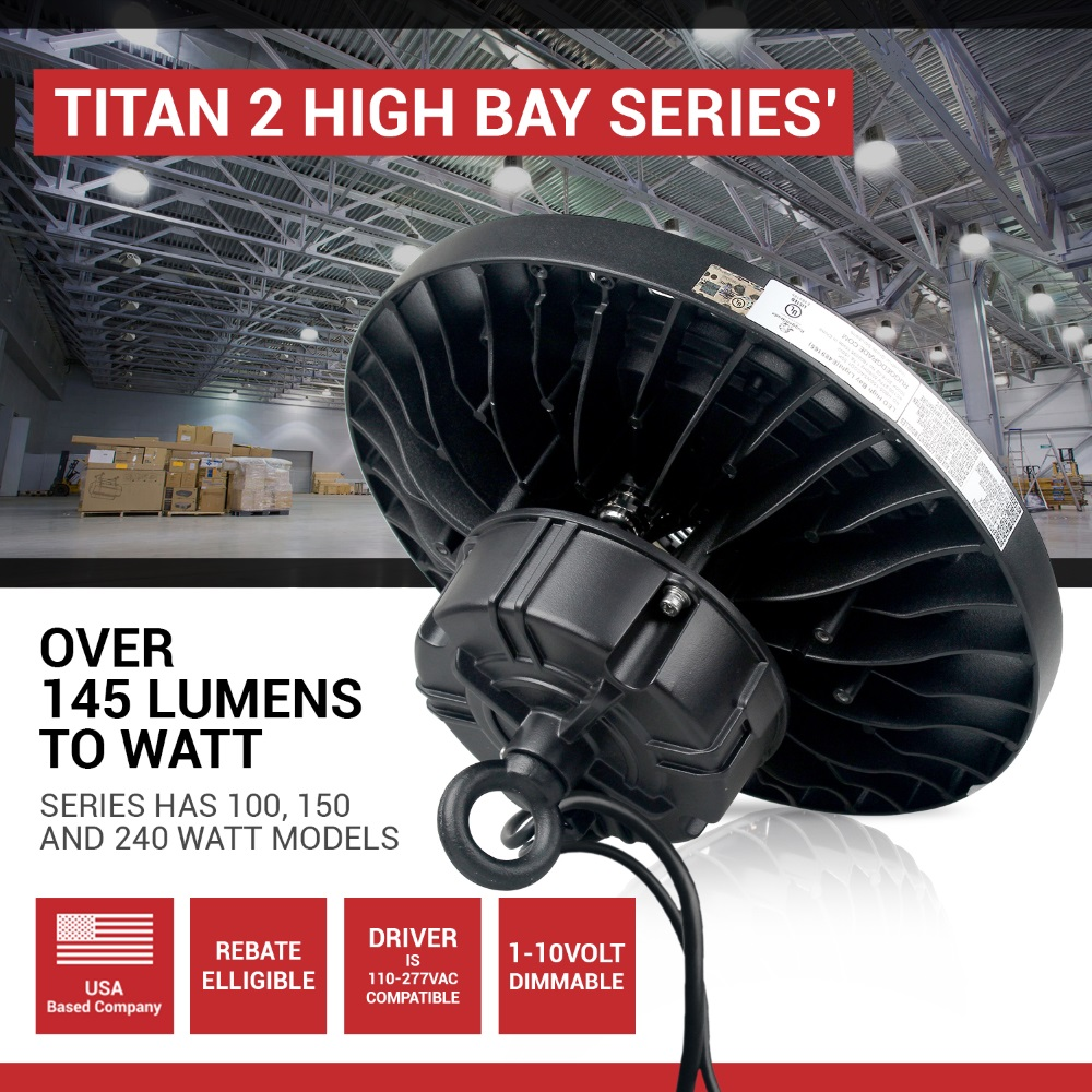 240 Watt Led High Bay Lights: 240 Watt MOTION SENSOR LED High Bay UFO Light