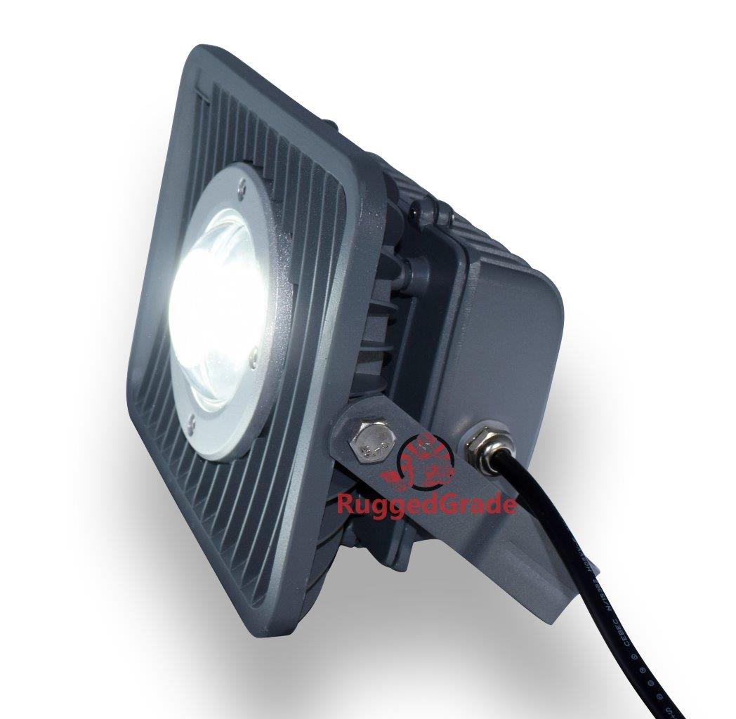 50 watt heavy duty led flood light 5000 lumens. Black Bedroom Furniture Sets. Home Design Ideas