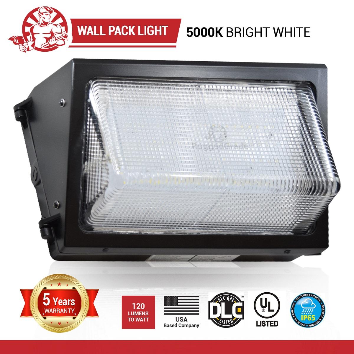 80 watt led wall pack 9100 lumens 5000k with ul and dlc wall quick view aloadofball Choice Image