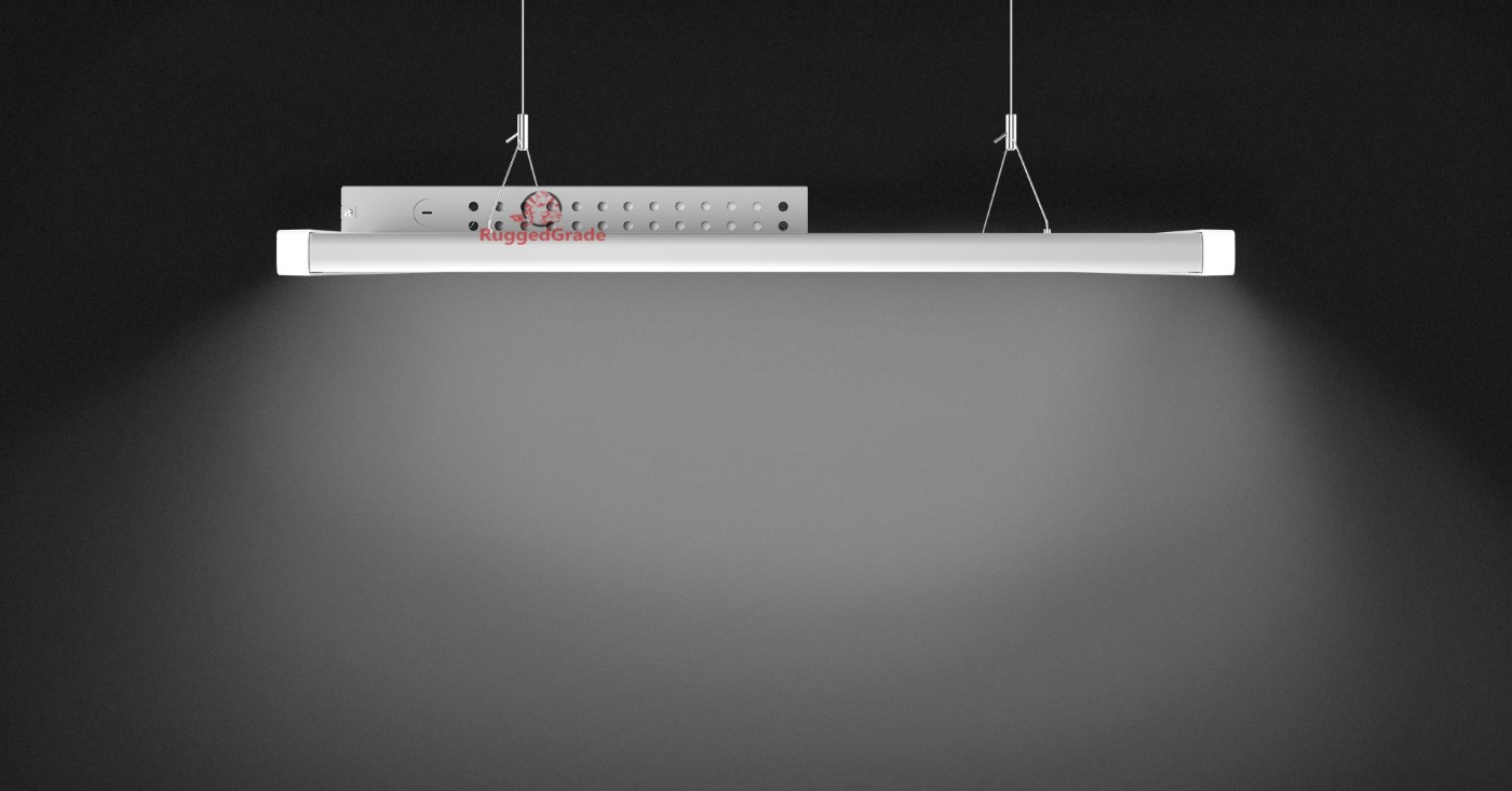 120 watt linear elite series led high bay lights 140 lumens to watt 5000k. Black Bedroom Furniture Sets. Home Design Ideas