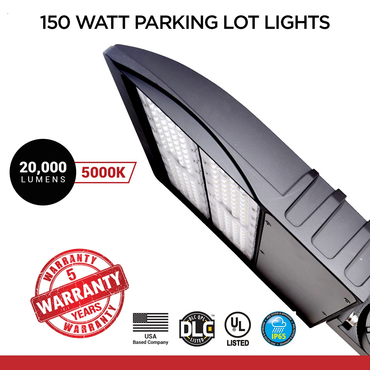 150 Watt LED NextGen Parking Lot Lights