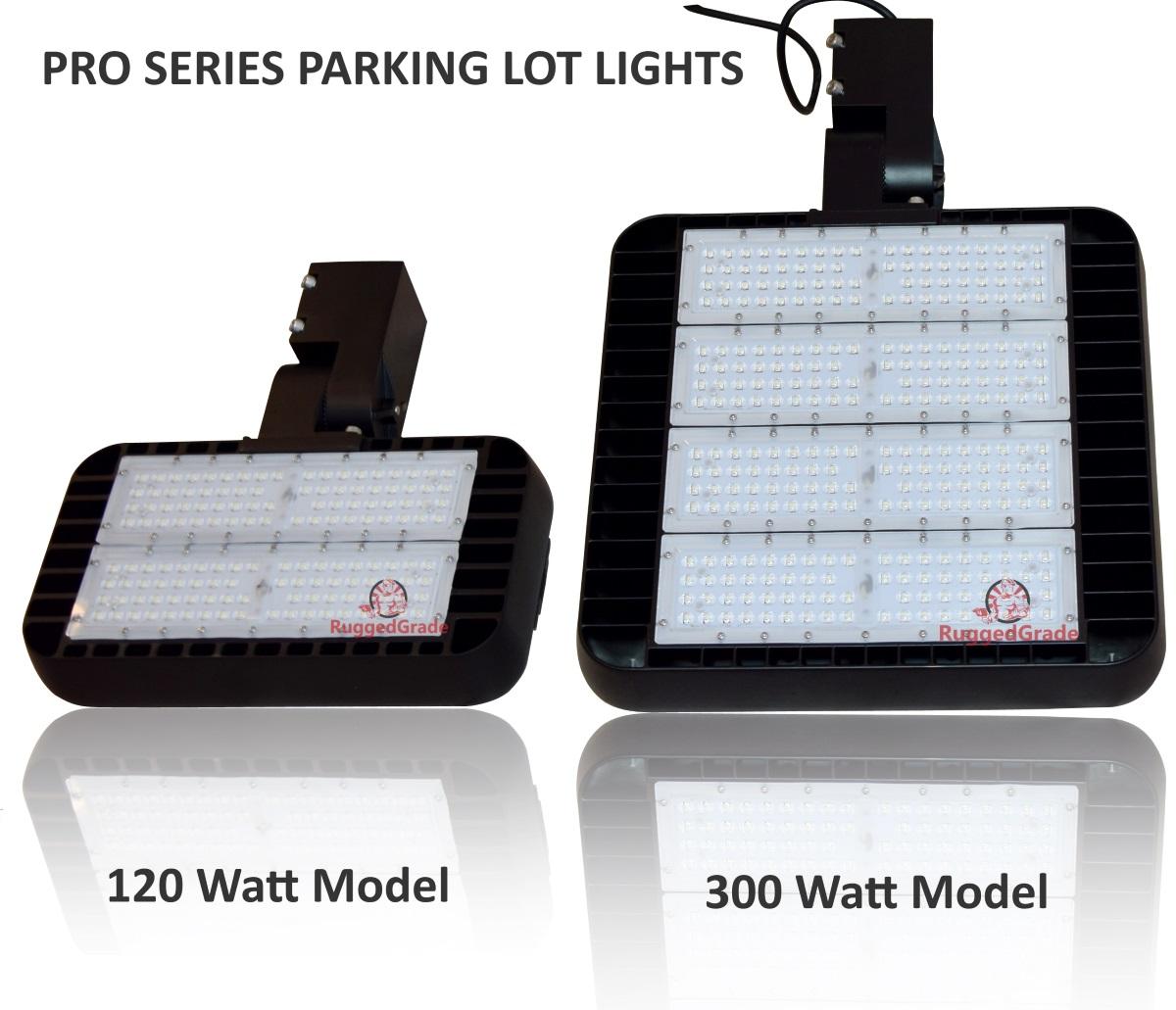 40,000 Lumen LED Parking Lot Lights