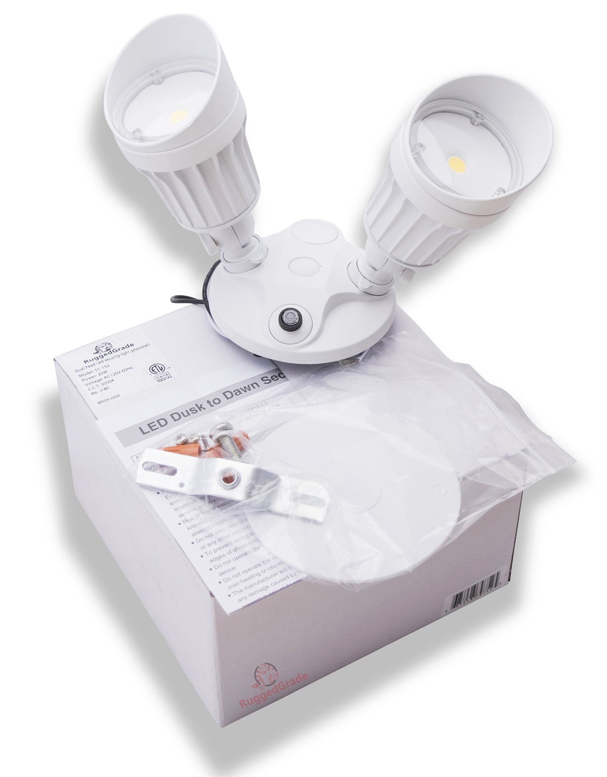 Flood Light Dusk To Dawn Sensor : Watt adjustable led flood light bronze lumen
