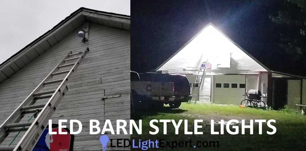 6 000 Lumen Outdoor Wall Light 50 Watt Yard Light