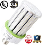 100 Watt E39 LED Corn Light Bulb - 12,000 Lumens - 5000K