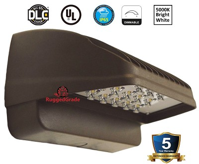 24 Watt Wall Light - Downlight - 2400 Lumen - 5000K -WITH Photocell