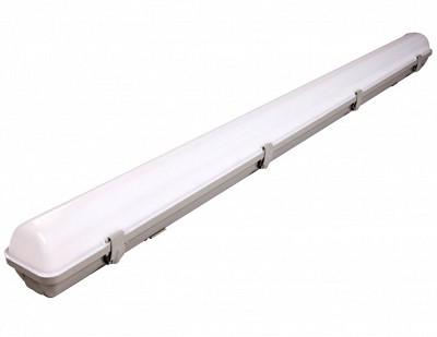 4 Foot LED Vapor Tight Light - 60 watts - 6000 Lumens - 5000K