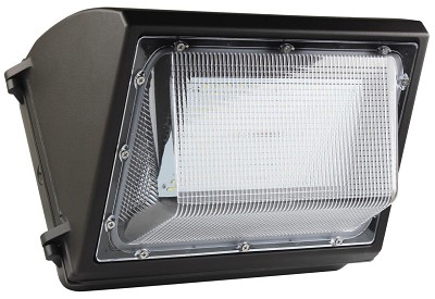 55 Watt Led Wall Pack With Battery Back Up 7 150 Lumens