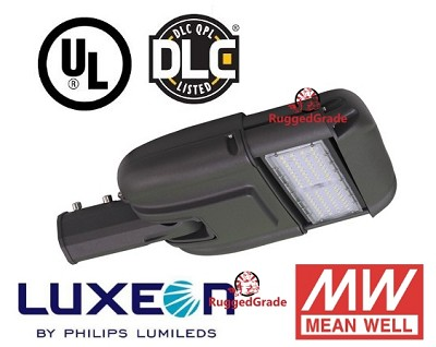 6,900 Lumen LED Street Light - Uses only 60 Watts - 5000K Color - With Photocell Optional
